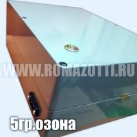 Промышленный озонатор для очистки воды, 5 гр/час, с регулировкой